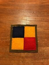 WWI US Army Tank Corps battalion patch AEF