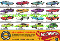 Hot Wheels Redline 1968 A3 Large Poster Shop Display Sign Advert Leaflet Flyer