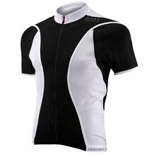 Équipements blancs Gore pour cycliste