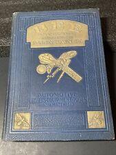 Rare 1931 Bee Inc Automotive Book Catalog Parts Tools Equipment Allentown Pa