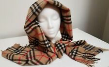 Cashemere scarf Bulberry classic check men women