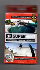 SuperHeat Skateboard Trading Card Game Throw Down Deck #4 Sealed SUPER HEAT