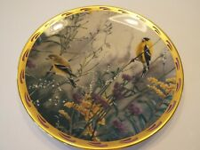 Lenox Nature's Plate Collection 1992, Golden Splendor, Yellow Finches