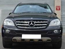 Mercedes W164 ML Sports Bonnet Hood grille grill Black AMG