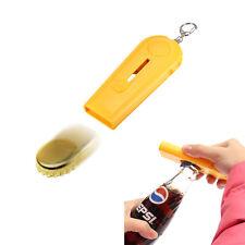 Tool Flying Cap Launcher Bottle Beer Opener Key rings Key Chain Typical Creative
