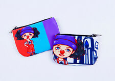 Big Comfy Couch Loonette The Clown Coin Purse Wallet - 90s Pocket Wallet For Her