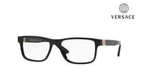 VERSACE Glasses Frames VE3211 GB1 Black / Gold RRP £170