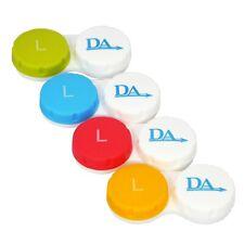 Estuche De Lentes De Contacto X 4 ~ conjunto de almacenamiento para los casos de viaje las lentes blandas opciones de color