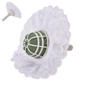 DIY Foam Bouquet Handle Wedding Flower Holder Decoration With Lace