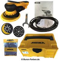 Mirka Deros 5650CV Exzenterschleifer Schleifmaschine Ø125/150 mm Case Hub 5,0 m