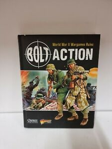 Bolt Action: World War II Wargames Rules by Priestley, Rick Book (F5)