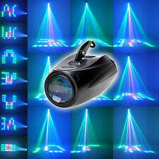 10W 64 LED Pattern Stage Light Sound Active RGBW DJ Effect Disco Party Lighting