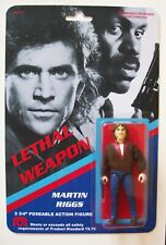Custom made 3 3/4 Lethal Weapon Martin Riggs Vintage Style Action Figure MOC