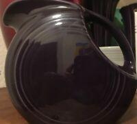 Fiesta Plum Juice Pitcher, Fiestaware
