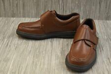Hush Puppies Gil Leather Strap Walking Shoes, Men's Size 11M, Tan