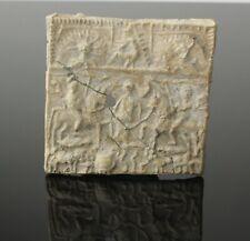 ANCIENT THRACIAN LEAD PLAQUE - CIRCA 300 AD
