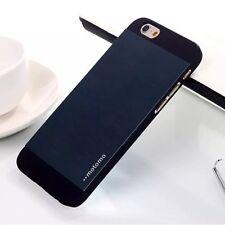 Coque Aluminium Brossé Motomo pour iPhone 6 - Bleu