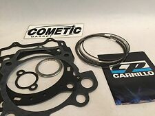 YFZ450 YFZ 450 98mm M1009 M0185 CP Piston Rings Only & Cometic Gaskets Kit Set