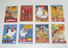 Lot de 8 Carte Postale Reproduction Affiche Publicitaire Ancienne