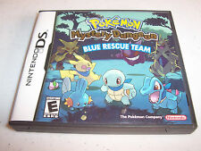 Pokemon Mystery Dungeon Blue Rescue Team Nintendo DS w/Case & Manual
