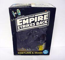 STAR WARS DARTH VADER COSTUME & MASK Ben Cooper Halloween Set ESB w/BOX 1980