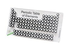 Acrylic Periodic Table of Elements set of 71 Elements samples in labeled vials