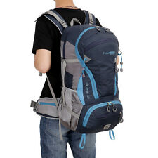 Waterproof Travel 45L Backpack School Camping Rucksack Bag Satchel Pack Nylon