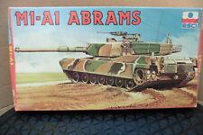 ESCI 1/72 US M1-A1 ABRAMS TANK  MODEL KIT BOXED ERTL