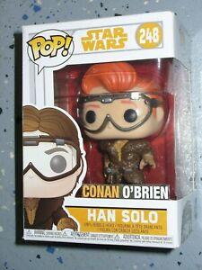 Custom Funko Pop Vinyl Figure Conan O'Brien as Han Solo from Star Wars # 248