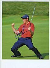 Golfer Hunter Mahan Signed & Autograhed PGA Champion
