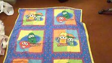 "New listing Project Linus Big Idea's Veggie Tales Children's Blanket 50x44"""