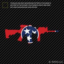 Tennessee State Shape AR15 Sticker Decal AR-15 M16 M-16 TN