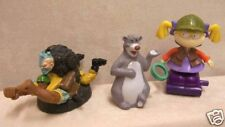 Fast food Toys Small Soldiers Rugrats Cartoon & Baloo Disney Bear Burger King 3
