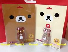 Medicom Be@rbrick 2013 Rilakkuma & Korilakkuma 100% Clear ver. bearbrick set 2pc