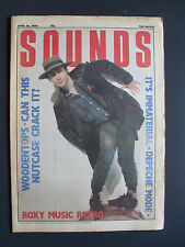 SOUNDS APR 26 86 ROLO MCGINTY WOODENTOPS DEPECHE MODE ROXY MUSIC IT'S IMMATERIAL