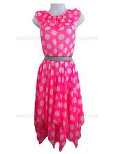 Robes roses décontractées pour fille de 2 à 3 ans