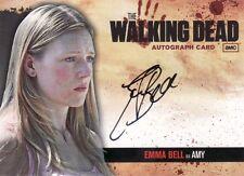 Walking Dead Season 1 Emma Bell as Amy A10 Auto Card
