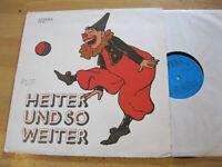LP Heiter und so weiter Das Schnitzel uvm.  LITERA DDR Vinyl 8 60 259