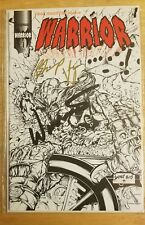Ultra RARE WWE Ultimate Warrior Dual Autographed Comic Book Issue #4 1st Print