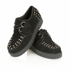 Faux Suede Lace-up Trainers for Women