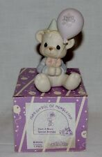 "PRECIOUS MOMENTS B-0004 "" HAVE A BEARY SPECIAL BIRTHDAY "" ~ NEW CONDITION"