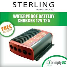 STERLING POWER PSP12121 AQUANAUTIC IP68 12V 12A 1L Waterproof Battery Charger