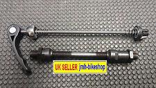 Quick Release Conversion Kit For Bike Hub / Wheel Skewer black & Axle Set 140 mm