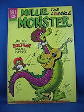 MILLIE THE LOVABLE MONSTER 3 File VF NM Bill Woggon (Katy Keene) 1964