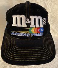 Vintage M&M Ernie Irvan Racing Team Nascar Baseball Cap Hat Adult #36 Preowned