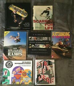 Skateboarding 6 book bundle + street fashion book