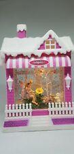 Chloes Garden Fairy Village Light Up Glitter Sparkling Lantern - Pink Fairy
