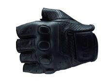 Guanti in pelle senza dita taglia XL per motociclista