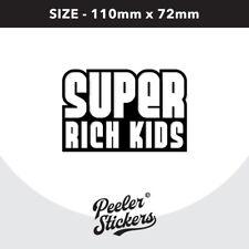Super Rich Kids Decal Sticker, Laptop Macbook Car Frank Ocean Sticker CD0057