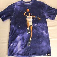 Rare Space Jam Michael Jordan Nike Air Jordan Galaxy 20th Anniversary Shirt Med.